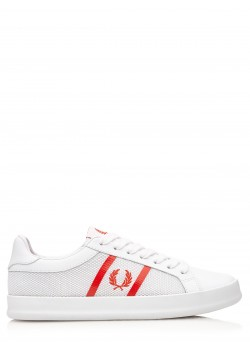 "Fred Perry sneaker ""Vulc Leather / Mesh"" white"