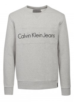 Calvin Klein Jeans pullover light grey