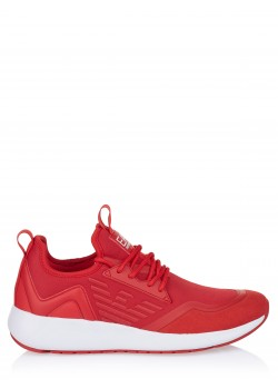 EA7 Emporio Armani shoe red