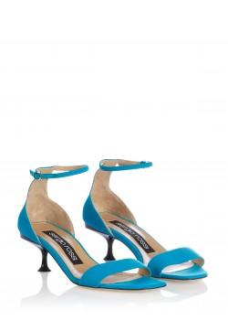 Sergio Rossi sandal turquoise