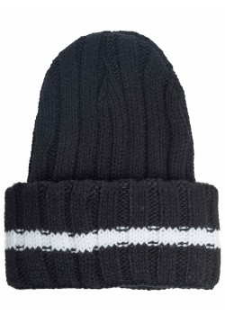 EA7 Chapeau tricoté Emporio Armani Emporio noir