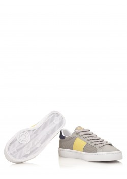 "Fred Perry sneaker ""Lawn Leather / Mesh"" grey"