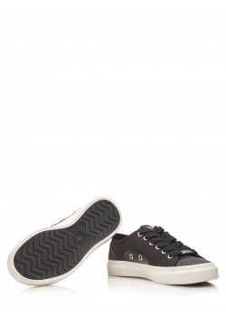 "Fred Perry sneaker ""Hughes Low Canvas"" noir"